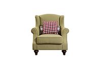 森盛舒美美式單人沙發